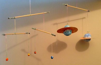 文化教育 太陽系モビール