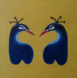 Billenbeestjes: pauwen