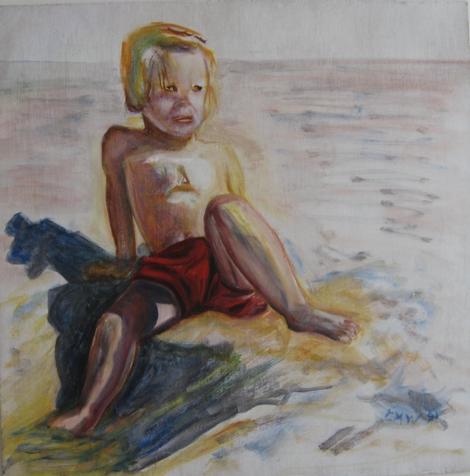 Het strandmeisje
