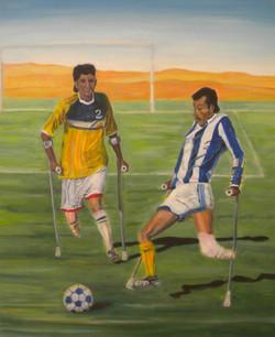 De voetballers