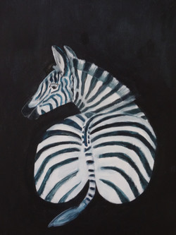Billenbeest Zebra
