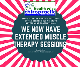 New Longer session in Sunbury Chiropract