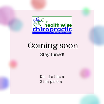Health Wise Chiropractic coming soon to