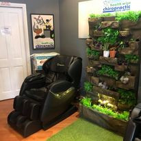 Massage Chairs at Health Wise Chiropract