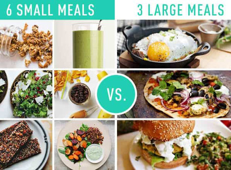 ​How many meals should you have a day?