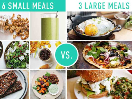How many meals should you have a day?