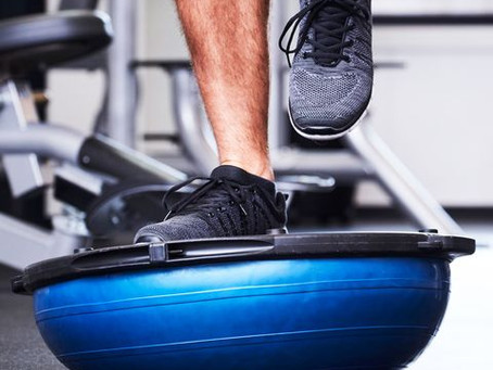 Does a strong core help ankle instability?