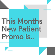 New Patient promotion at  Health Wise Ch