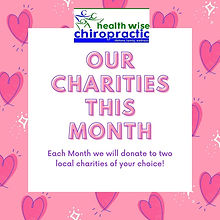 Health Wise Chiropractic Sunbury Charity