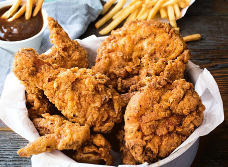 A NEW REASON TO STAY AWAY FROM FRIED FOODS