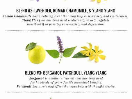 Essential oils: Calm Blend