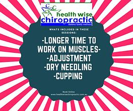New Longer session in Sunbury Chiropract