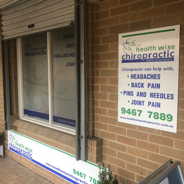 Health Wise Chiropractic Sunbury Clinic