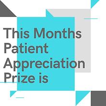 Patient Appreciation prize at  Health Wi