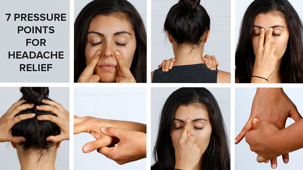 Pressure Point Relief for Headache sufferers !