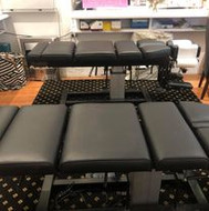 Chiropractic tables at Health Wise Chiro