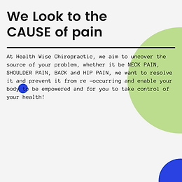 What is your cause of neck pain? Shoulder pain? Hip Pain? Health Wise chiropractic in sunbury and bundoora may know