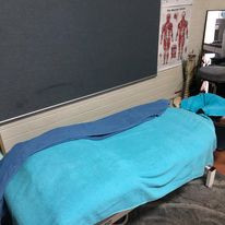 Our Massage table- We hope you enjoy you