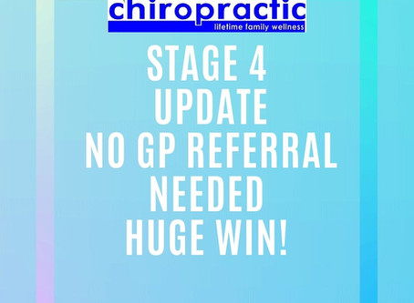 Stage 4 Covid 19 Lockdown- Health Wise Chiropractic