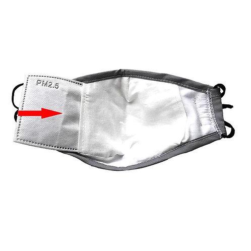 Filtre Actif PM2.5 pour Masque Réutilisable