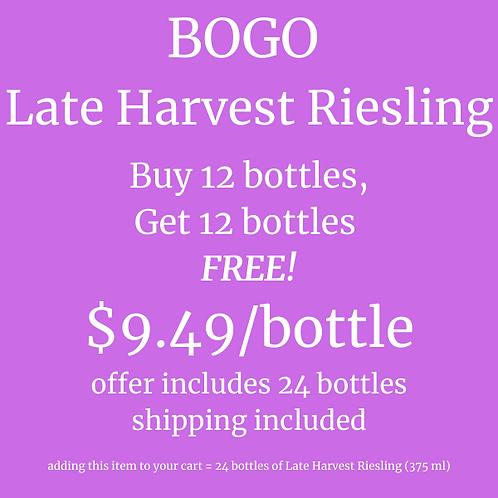 BOGO Late Harvest Riesling
