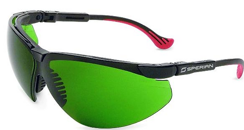 Honeywell IPL Client and User Eyewear. XC Frame in shades 3, 4, & 5