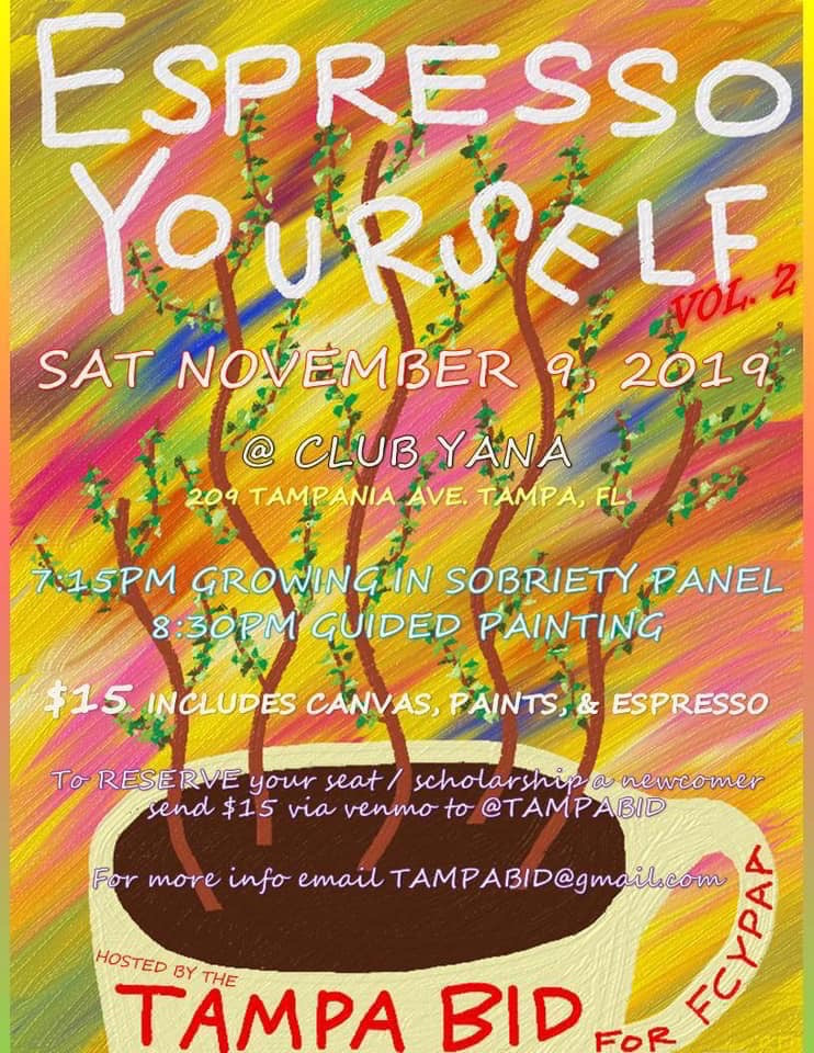 Espresso Yourself Event - Tampa Bid 2019