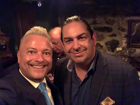 """Hanging out in NYC with """"Scorpion"""" (Walter O'Brian) the smartest man in the world"""