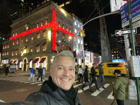 Cartier at Christmas in NYC