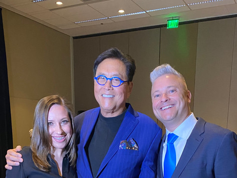After sharing the stage with Robert Kiyosaki