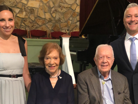 After Sharing Wisdom from Our 39th President Mr. Jimmy Carter