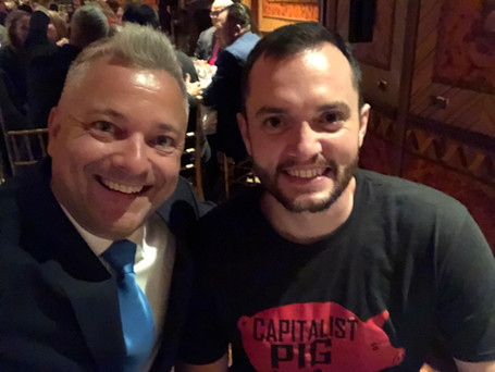Dinner at The Russian Tea Room with Steve Larson the Click Funnel Master