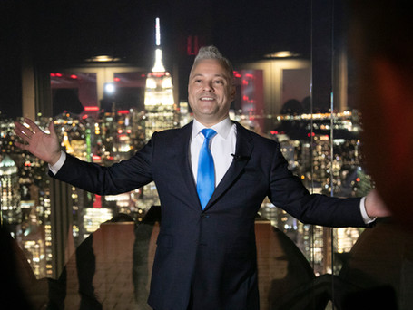 """Speaking at """"The Top of The Rock"""""""