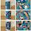 Thumbnail: Set of Three Patterns in Motion Mug Designs