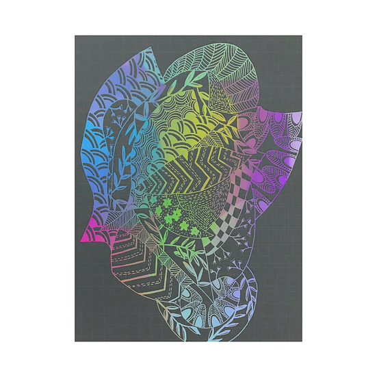 Flower Lady - Pastel Rainbow Series