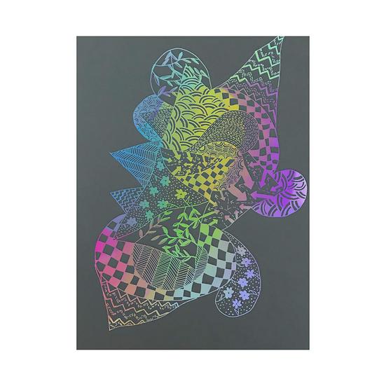 Creature of Rhythm - Pastel Rainbow Limited Edition Print