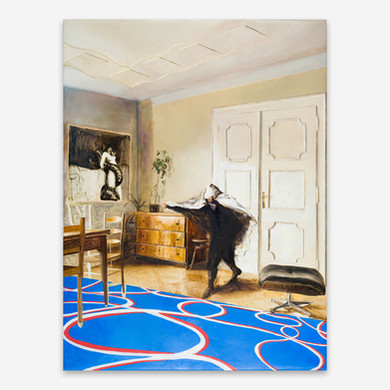 Sebastian Maas, Goya im Wohnzimmer, 2018
