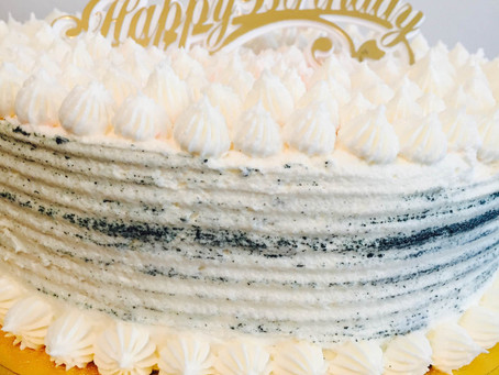 It's a birthday cake… and it's Gluten Free :)