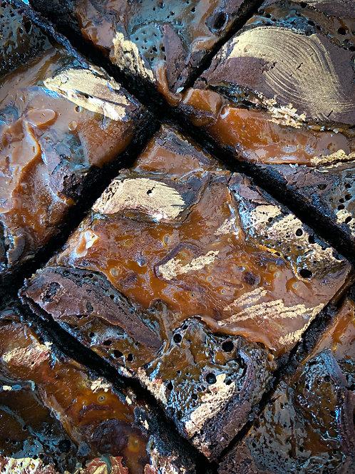 Gluten Free Gooey Bea Brownies