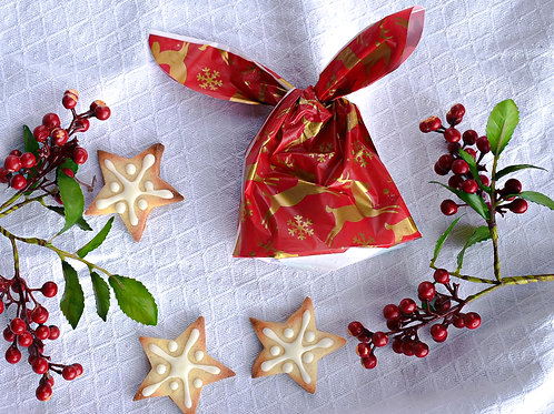 Mini Stars Cookies (stocking filler)