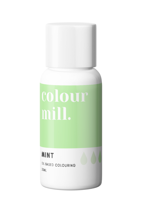 Mint Oil Based Food Colouring 20ml