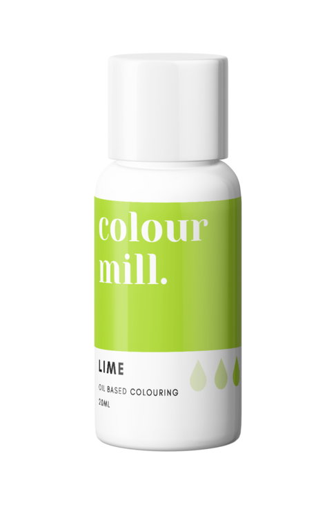 Lime Oil Based Food Colouring 20ml