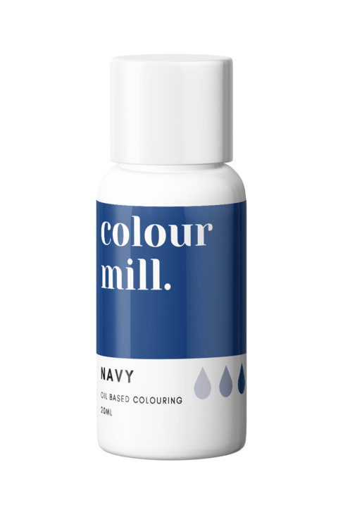Navy Oil Based Food Colouring 20ml