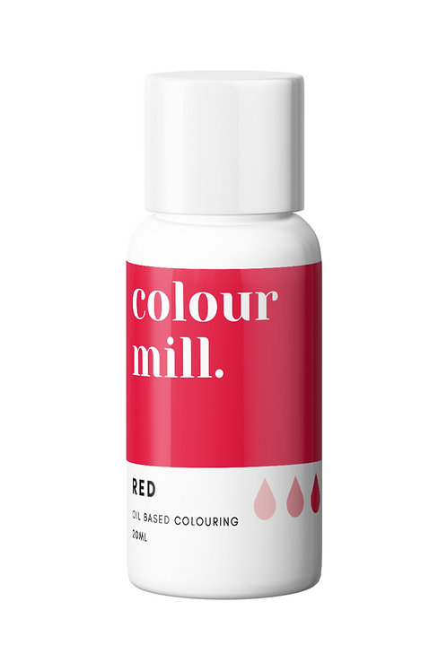 Red Oil Based Food Colouring 20ml