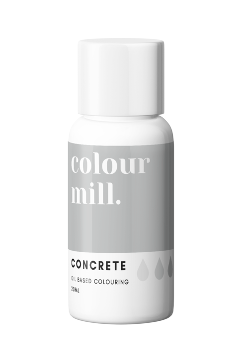 Concrete Oil Based Food Colouring 20ml