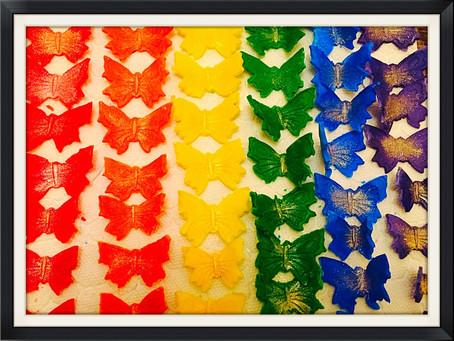 Fondant Butterflies… The battle continues :)