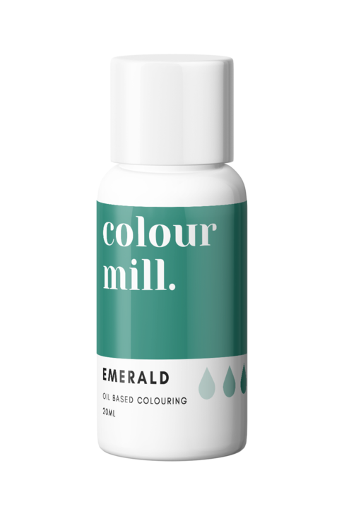 Emerald Oil Based Food Colouring 20ml