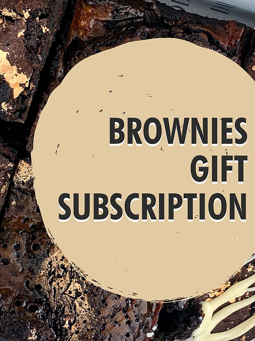 Brownies Gift Subscription