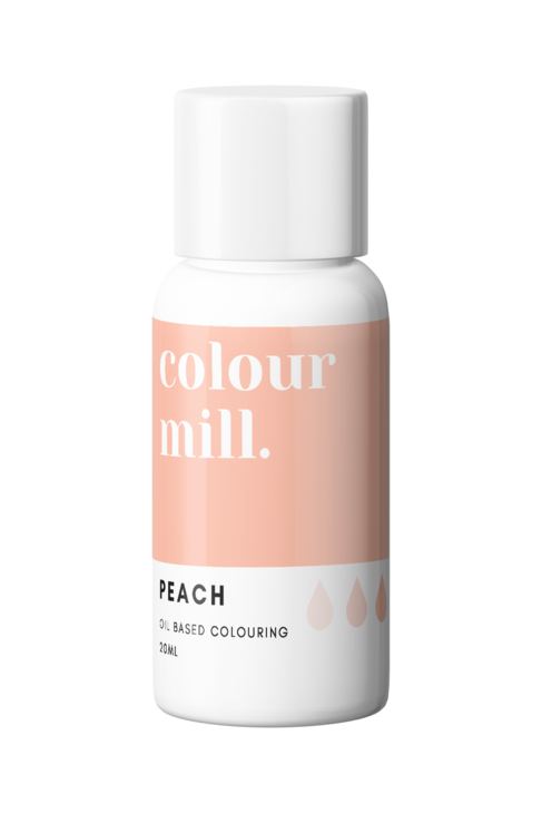 Peach Oil Based Food Colouring 20ml