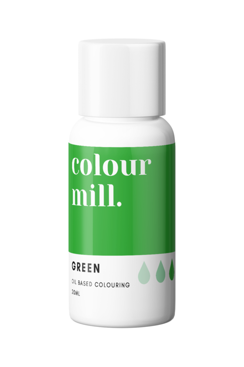 Green Oil Based Food Colouring 20ml